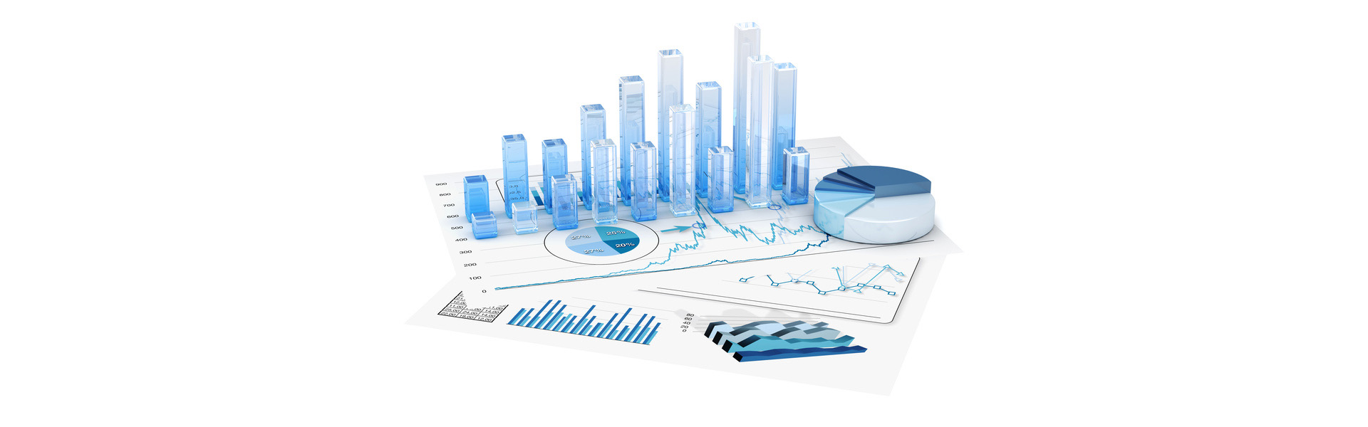 Graphs of financial analysis – Isolated